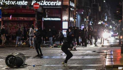 Woede om lockdowns neemt toe: demonstraties en rellen in Europese landen