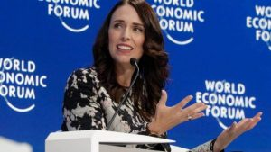 Jacinda Ardern's advice for world leaders: don't be on the wrong side of history